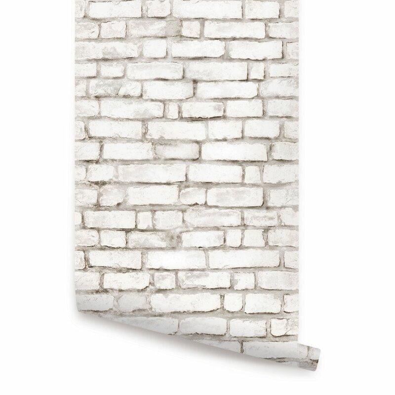 Brick+Peel+and+Stick+Wallpaper+Tile