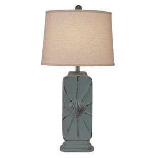 Iglesias Tall Rectangle 32 Table Lamp