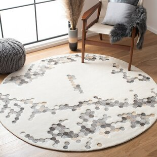 Leather Round Area Rugs You Ll Love In 2021 Wayfair