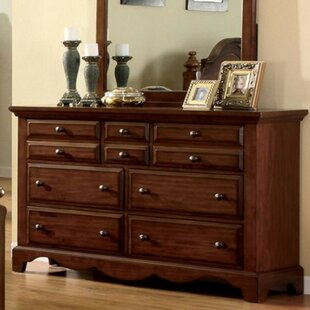 August Grove Imene Cottage 10 Drawer Dresser