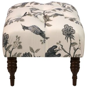 Cornelison Tufted Ottoman by Darby Home Co
