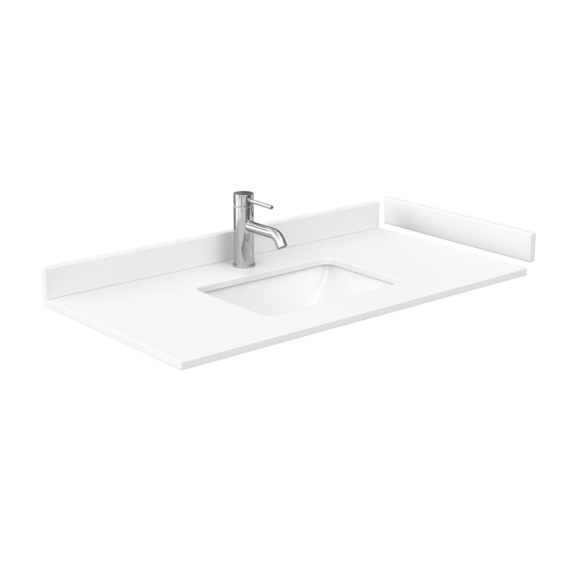 Wyndham Collection 42 Single Bathroom Vanity Top With Sink Wayfair
