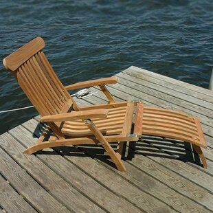 Steamer Teak Indoor/Outdoor Lounge Chair