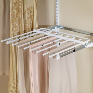 Configurations Closet Sliding Pants Rack by Rubbermaid