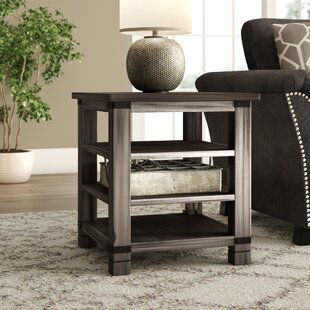Vilma Wood End Table