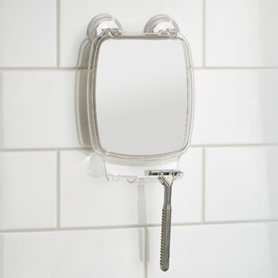 Reviews Power Lock Rectangular Mirror By InterDesign