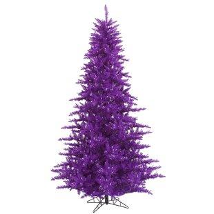 3 purple fir artificial christmas tree with stand - Small Purple Christmas Tree