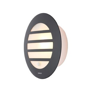 Larra Outdoor Bulkhead Light With Motion Sensor By Sol 72 Outdoor
