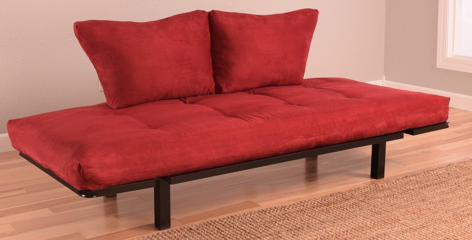 everett convertible futon and mattress ebern designs everett convertible futon and mattress  u0026 reviews      rh   wayfair