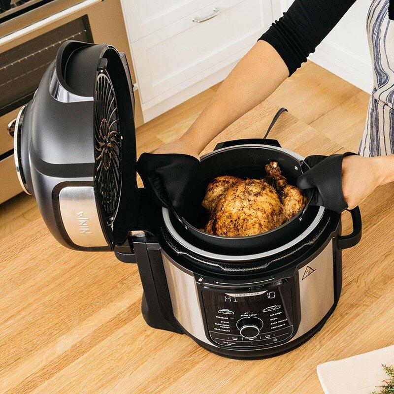 Ninja 8 Qt Foodi 9 In 1 Deluxe Xl Pressure Cooker And Air Fryer