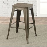 Gillespie Industrial 26 Bar Stool (Set of 2) by Gracie Oaks