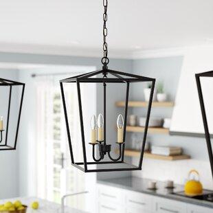 Andover Mills Finnick 3-Light Lantern Pendant