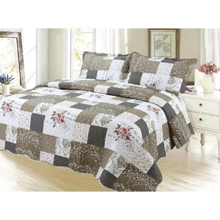 Sapphira Reversible Quilt Set
