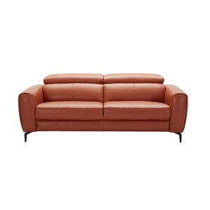 Camptown Genuine Leather Sofa by Orren Ellis