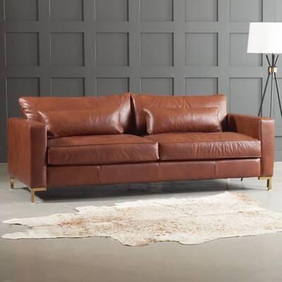 Maxine Leather Sofa