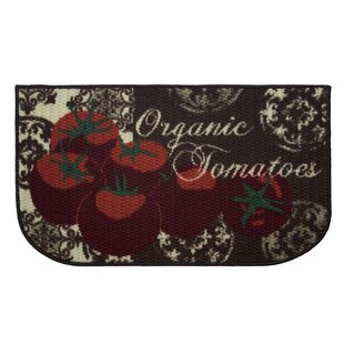 Textured Loop Tomatoes Kitchen Area Rug by Structures