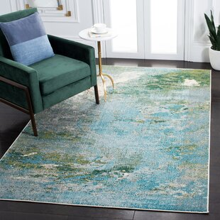 Abstract Green Area Rugs You Ll Love In 2021 Wayfair