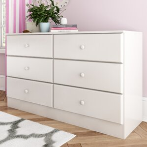 Bailey 6 Drawer Double Dresser by Viv + Rae
