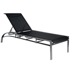 Metropolis Sling Reclining Chaise Lounge