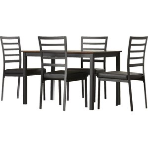Revere 5 Piece Dining Set by Andover Mills