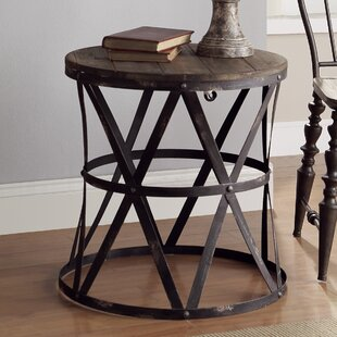 Heraldine End Table by Crestview Collection