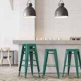 Emmalynn Metal 30' Bar & Counter Stool (Set of 4) by Williston Forge