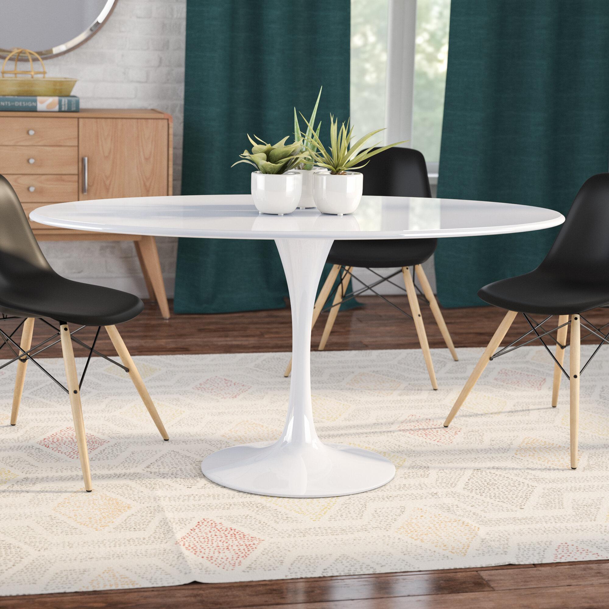 Langley Street Julien Oval Dining Table & Reviews   Wayfair