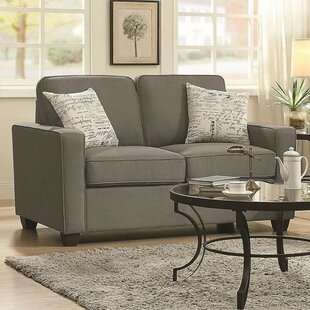 Mount Contemporary Loveseat by Winston Porter