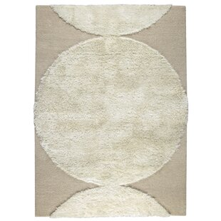Onord Hand-Tufted White Area Rug ByHokku Designs