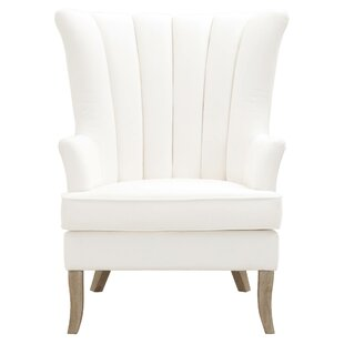 One Allium Way Everett Wingback Chair