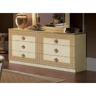 Albert 6 Drawer Double Dresser