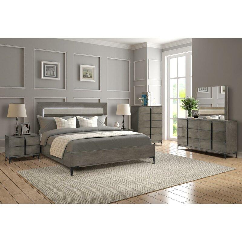 union rustic fullilove platform 5 piece bedroom set   wayfair