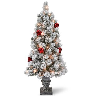 Old fashioned artificial christmas trees 3