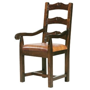 William Sheppee Tuscan Genuine Leather Upholstered Dining Chair