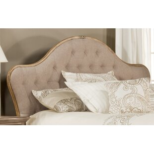 Willa Arlo Interiors Briony French Country Upholstered Panel Headboard