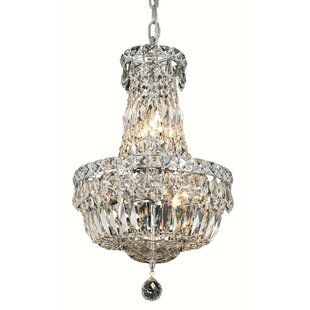 Fulham 6-Light Empire Chandelier by House of Hampton
