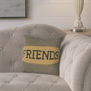 Erekson Friends 100% Cotton Throw Pillow