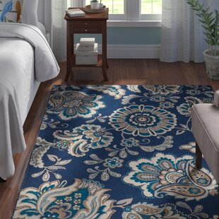 Albion Blue Area Rug by Winston Porter