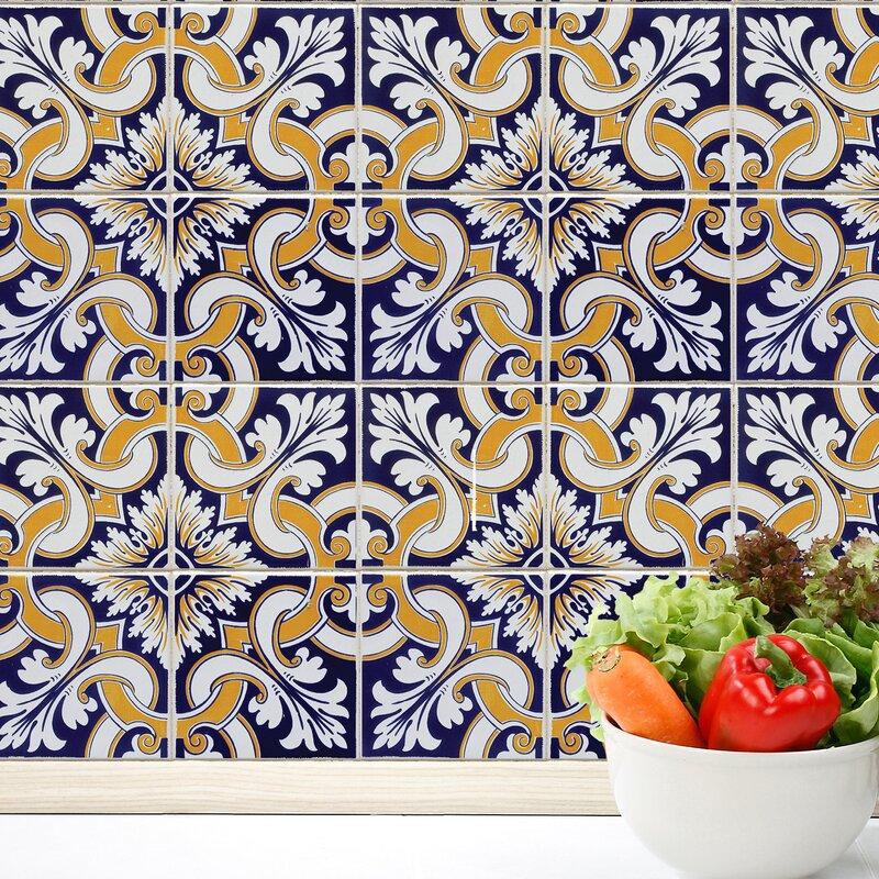 Talavera Tiles Wall Decal