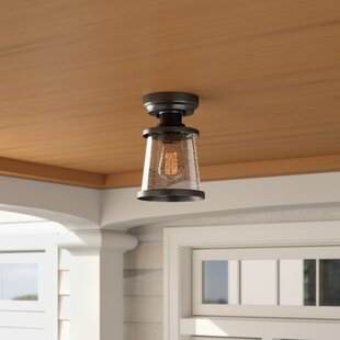 Charlie LED Outdoor/Indoor Semi Flush Mount