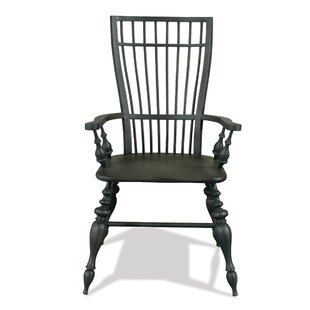 Alcott Hill Sir Windsor Solid Wood Dining Chair (Set of 2)