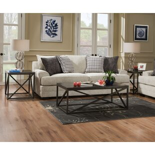LaGuardia 3 Piece Coffee Table Set Gracie Oaks