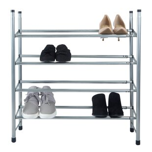 Best Reviews 20 Pair Shoe Rack By Rebrilliant