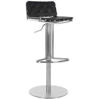 Peachy Tevin Adjustable Height Bar Stool Brayden Studio Upholstery Pabps2019 Chair Design Images Pabps2019Com