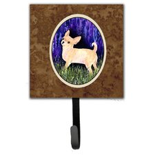 Starry Night Chihuahua Leash Holder and Wall Hook by Caroline's Treasures