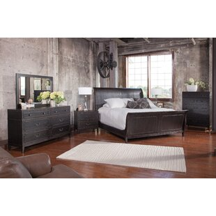 Leatherhead Sleigh Configurable Bedroom Set