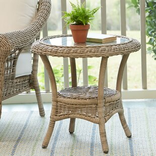 Riesel Wicker Side Table