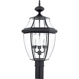 Starnes Outdoor 3-Light Incandescent Lantern Head