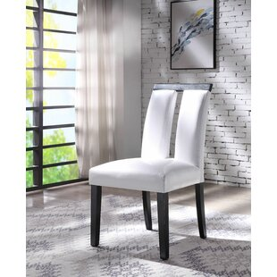 Buford Upholstered Dining Chair (Set of 2) House of Hampton