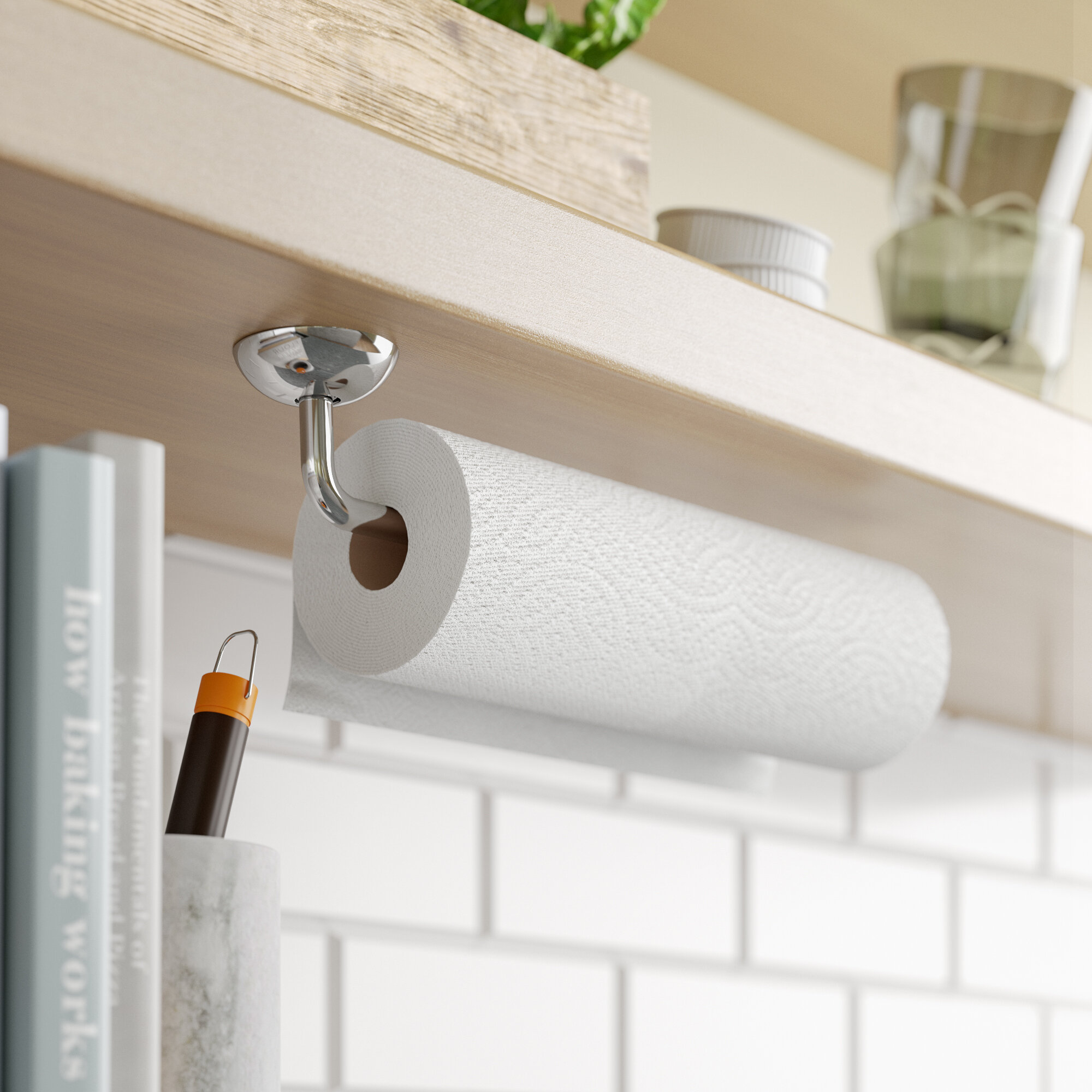 Rebrilliant Espana Wall Mount Paper Towel Holder Reviews Wayfair